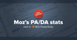 SEO PowerSuite Tools Get Updated with Moz's PA/DA Metrics