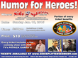 Patrick Garrity Cracks Jokes to Benefit Special Operations Warrior Foundation at Side Splitters Jan. 18 in Tampa