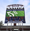 New LED video board at Alexander Stadium