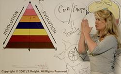 Ramtha Channel JZ Knight Teaching at the School
