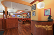 The Holiday Inn Westbury - Long Island, and the Sporting News Grill...
