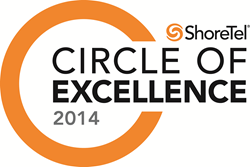 ShoreTel Circle of Excellence 2014