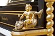 Bösendorfer Emperor Concert Grand Hand Carved Gold Plated Cherub Close Up