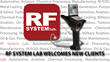 RF System Lab is Proud to Announce New Customers