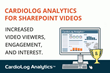 Upcoming Webinar: CardioLog Analytics Introduces SharePoint Video Tracking
