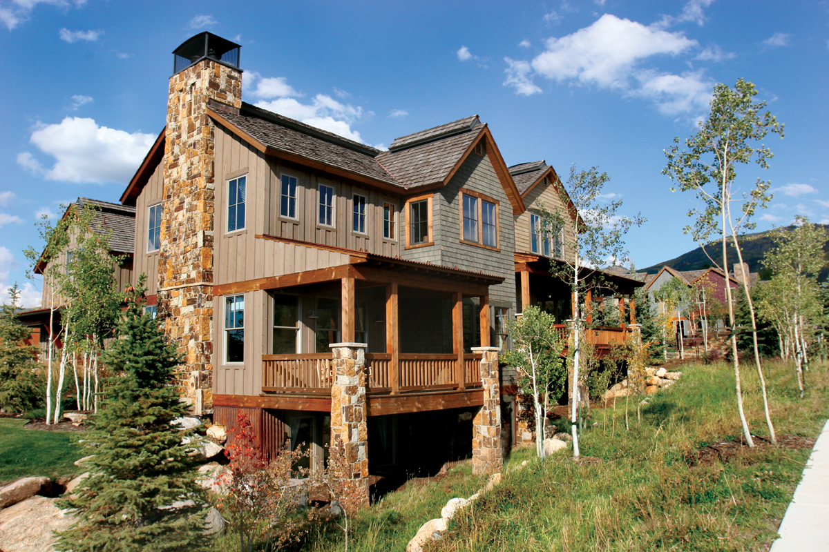 New website for colorado mountain home real estate site for Modern homes colorado springs