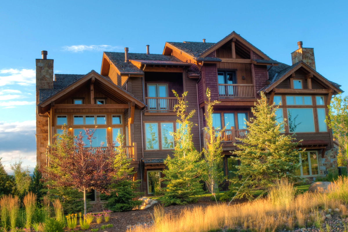 New website for colorado mountain home real estate site for Mountain home builders colorado