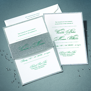 carlson craft® releases new fifteen™ album, Wedding invitations