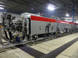 The new space dye equipment made by Belmont Textile Machinery now online at Pharr's McAdenville, NC operations.