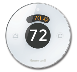 Honeywell's Lyric thermostat has been entered into the Best of KBIS 2015 contest