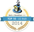 BedandBreakfast.com Announces 10th Annual Award Winners