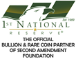 1st National Reserve Joins Second Amendment Foundation as 2015 Gold...