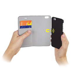 iPhone 6 Case with magnetic folio