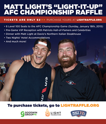 Superb Former New England Patriot Matt Light Announces 3rd AFC Championship Raffle  For The Light Foundation Amazing Pictures