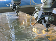 dual 5-axis water jet cutting heads