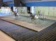 waterjet gantry large metal plates