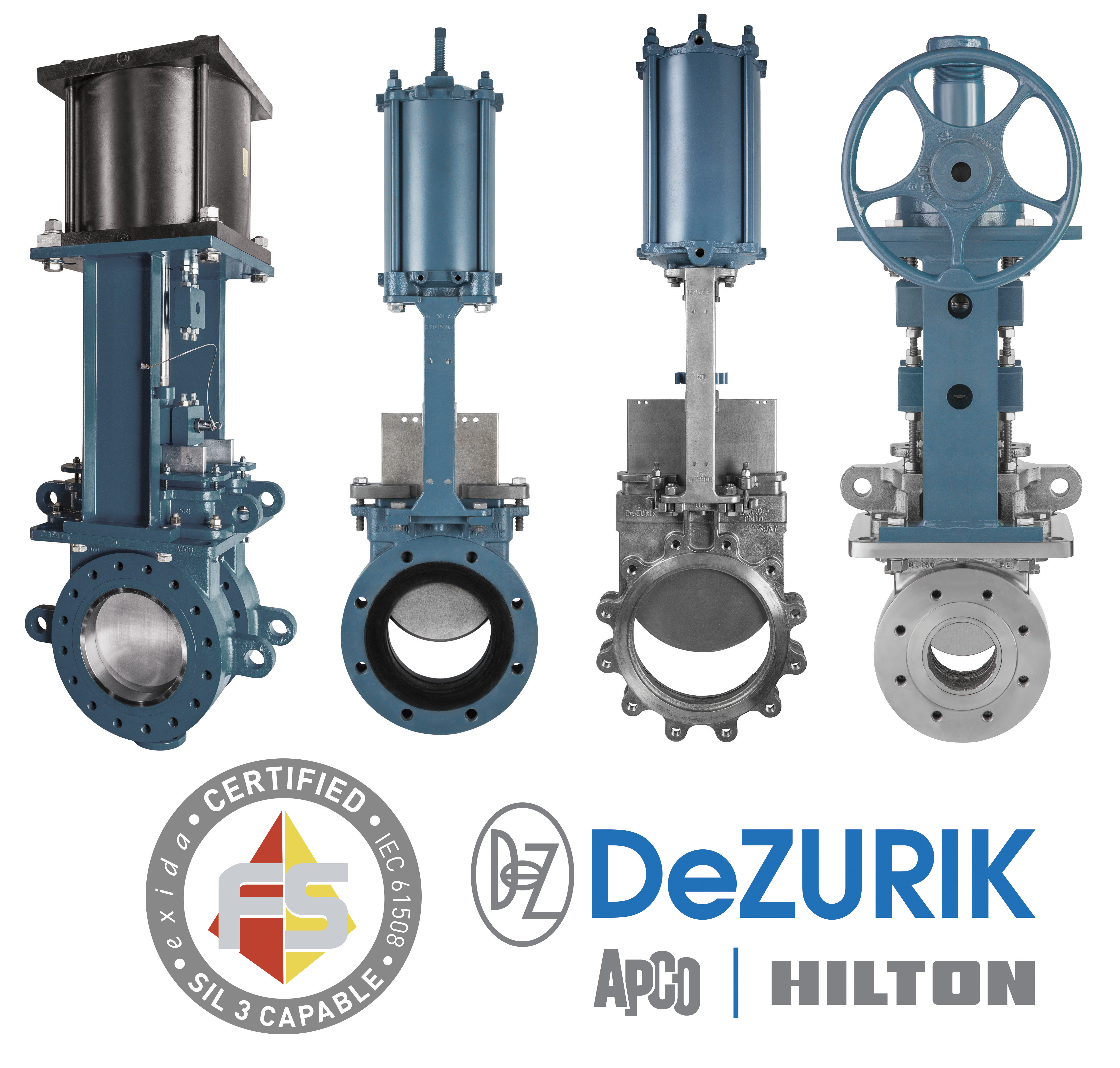 dezurik knife gate valves earn safety integrity level  sil