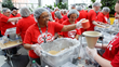FedEx employees in six cities slated to package 70,000 Stop Hunger Now meals in a single day