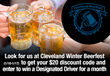 BeMyDD Supports Social Responsibility at Cleveland Winter Beerfest with Discounted Rides