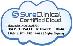 SureClinical Certified Cloud