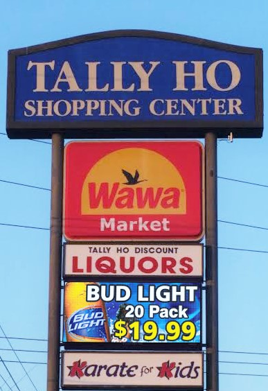 Tally Ho Liquors Stands Out With An Led Sign Provided By