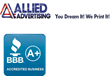 Allied Advertising Continues Stellar BBB Accreditation A+
