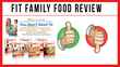 Fit Family Food: Review Examining Sue Heintze's Brand New Recipe Book...