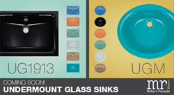 New Undermount Glass Sinks by MR Direct