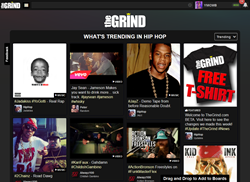 Image of TheGrind.com Hip Hop Social Network