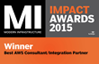 Flux7 Wins 2015 Modern Impact Awards, Best AWS Consulting Partner