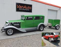 1932 Reo & 1957 Thunderbird