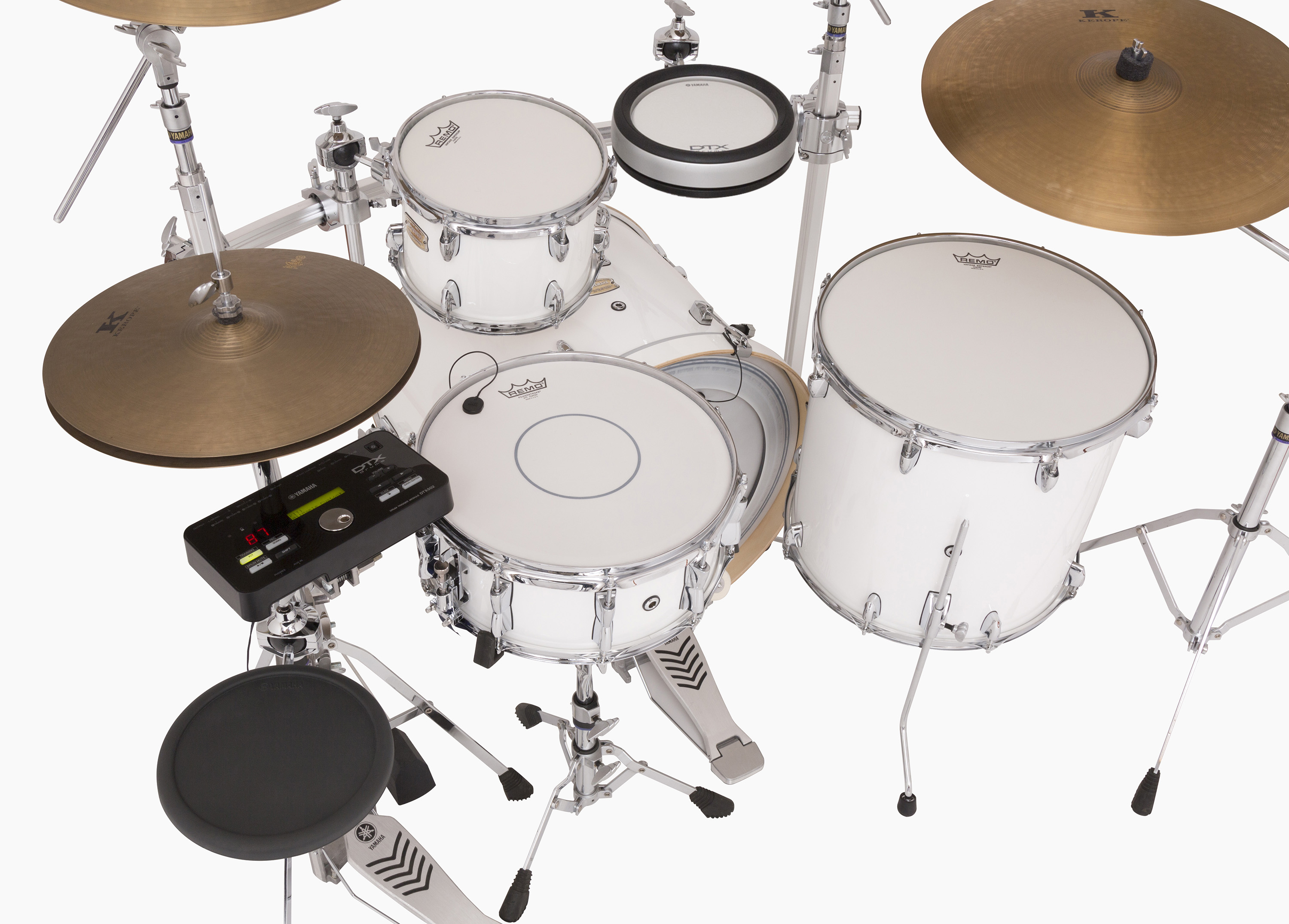 Yamaha Hybrid Drum Set