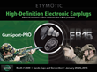 Etymotic Brings Electronic Hearing Protection to The SHOT Show