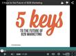 Five Keys To The Future of B2B Marketing: Shweiki Media Company...