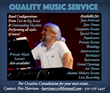 Quality Music Service Flyer