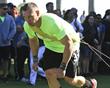 Athletes battling at Hard Exercise Works The Battle