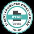 Best Commuter Cities in Utah Badge