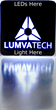 You Can't Light That! Lumvatech announces New Markets for Revolutionary LED Backlighting Technology including Advertising and Human Machine Interfaces