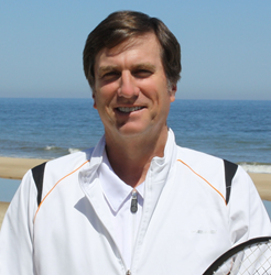 Sea Colony Tennis Director Thomas Johnston was recently named the United States Tennis Association Delaware District Pro of the Year