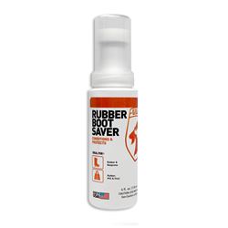 rubber boot saver, rubber conditioner, blooming, sun damage
