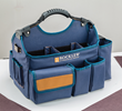 The Joinery Tool Bag features adjustable velcro dividers, numerous pockets and slots.