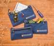 The Zipper Pouches are ideal for storing miscellaneous hardware, biscuits, dowels, drill bits, sharpened pencils and drafting tools.