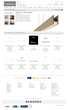 Product Family Page for Edge Lighting's Cirrus Suspensions on Lightology.com