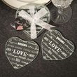 Free gift offer: Elegant glass coasters arrive with each physical CD purchase from MichaelDulin.com