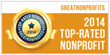TisBest Philanthropy Receives 2014 Top-Rated Nonprofit Award