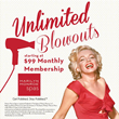 Marilyn Monroe™ Spas Launches Unlimited Blow Outs Monthly Membership...