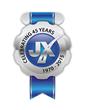 JX Enterprises - 45th Anniversary Logo