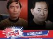 Pop Culture Icon George Takei Beams In To The Great Philadelphia Comic...