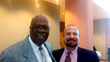 Sarasota Mayor Willie Shaw and Attorney David L. Goldman