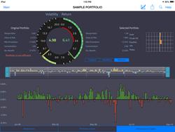Risk-AI Fusion Portfolio Screen